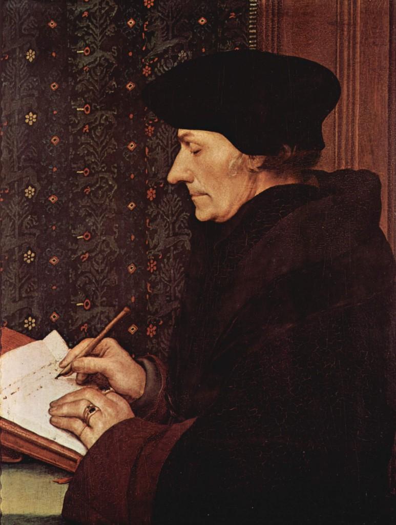 Eramus by Hans Holbein