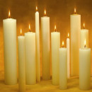 tace is Latin for candle