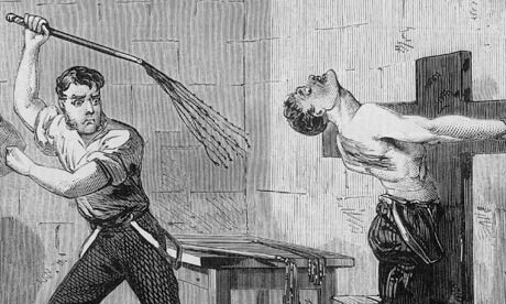George Smith being flogged - 1872