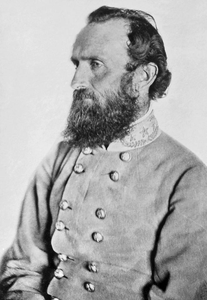Thomas Jonathan 'Stonewall' Jackson (1824-63), Confederate general during the American Civil War