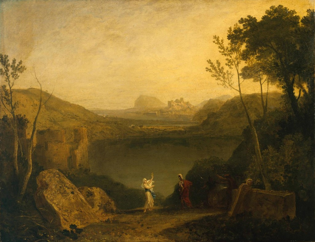 Aeneas and the Sibyl, Lake Avernus c.1798 by Joseph Mallord William Turner 1775-1851
