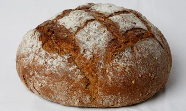 loaf of bread - photograph David Levene for the Guardian
