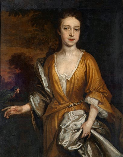 portrait, said to be of Stella (Esther Johnson) - image Crawford Art Gallery - Cork, Éire