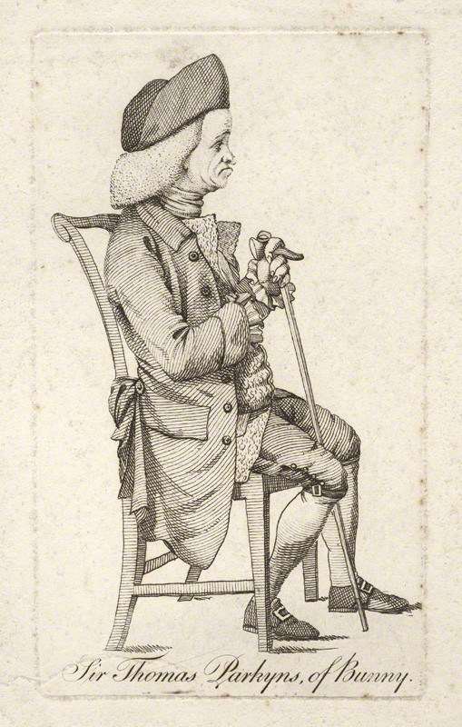 NPG D5467; Sir Thomas Parkyns, 2nd Bt after Unknown artist