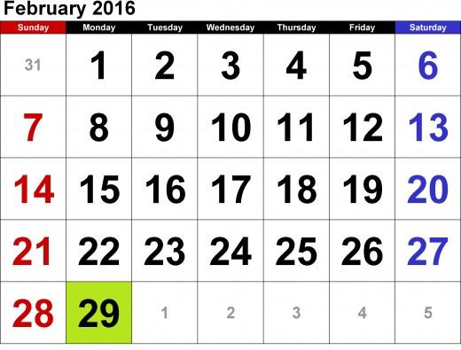 bissextile month