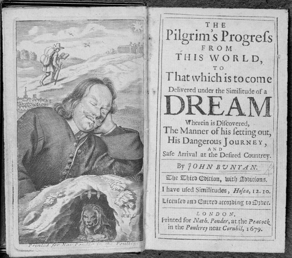 The Pilgrim's Progress from this World, to That which is to come Delivered under the Similitude of a Dream Wherein is Discovered, The Manner of his setting out, His Dangerous Journey, and Safe Arrival at the Desired Countrey (1679