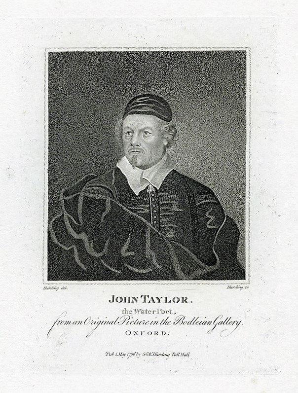 NPG D42253; John Taylor by Edward Harding, published by  E. & S. Harding