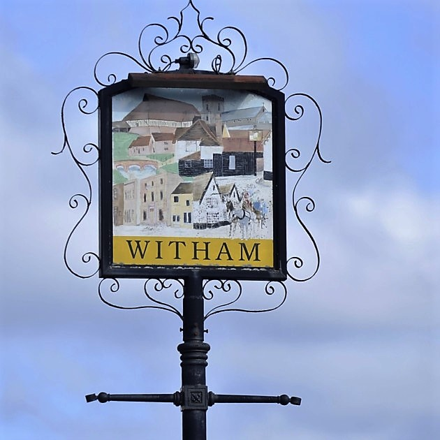 Witham (Essex) - town sign