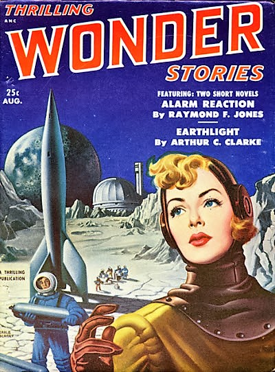 cover of Thrilling Wonder Stories (August 1951)